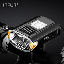 INFUN GT200 Bike Front Headlight Cycling Bicycle Rechargeable Flashlight