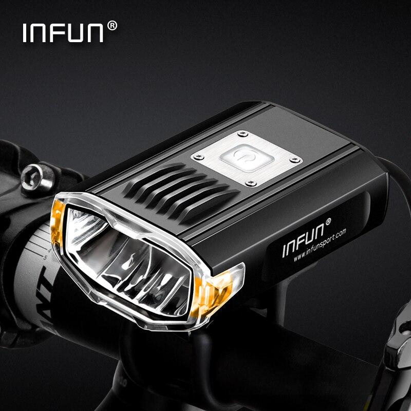 INFUN GT200 Fahrrad Front Scheinwerfer Radfahren Fahrrad Aufladbare Taschenlampe 2200 Lumen-in Fahrradlicht aus Sport und Unterhaltung bei AliExpress - 11.11_Doppel-11Tag der Singles 1