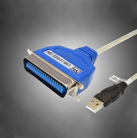1 5 Meters For Epson LQ630k 635K 730k 680k Stylus Printer Data Cable And USB Port