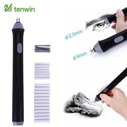 Kawaii Электрический ластик Забавный механический карандаш резиновая Kneadable электронный ластик для детей Канцтовары офисный школьный