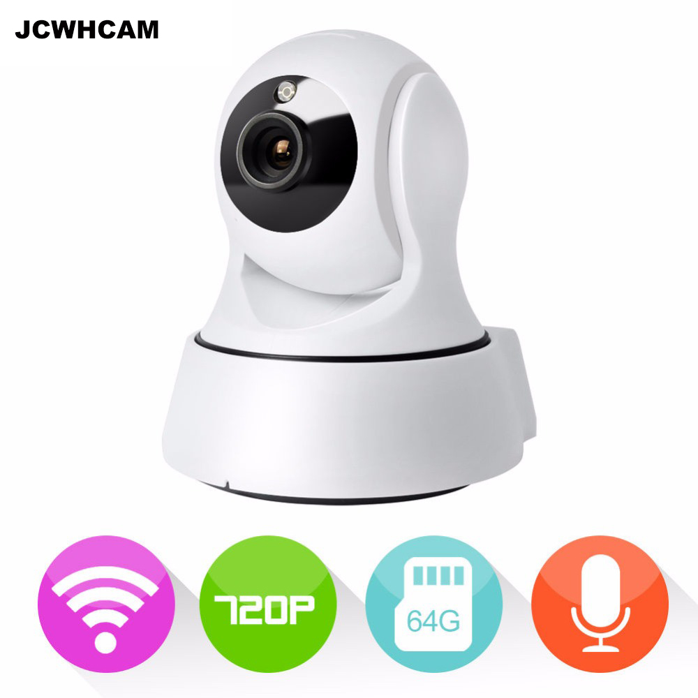 JCWHCAM Home Security Camera Wireless Mini IP Camera Surveillance Camera Wifi 720P Night Vision CCTV Camera Baby Monitor