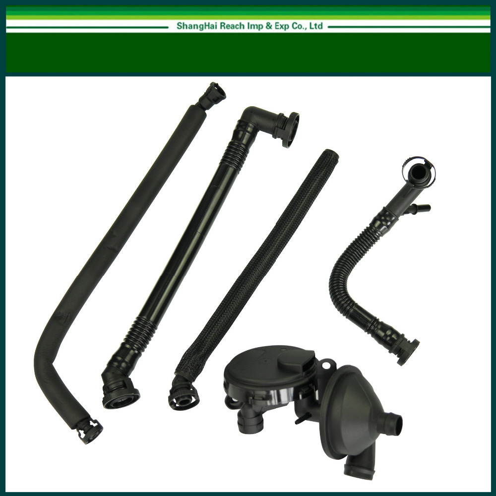 Free Shipping New Pcv Crankcase Vent Valve Breather Hose Kit For 1994 Bmw 525i Spark Plugs From The To Motherboard Wiring 330i 325xi E46 325i 11617501566 11617504535 11611432559