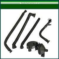 FREE SHIPPING New PCV Crankcase Vent Valve Breather Hose Kit For BMW 330i 325Xi E46 325i