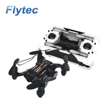 Flytec SBEGO 132 Headless Air Land Mode Pocket Drone Quadcopter with Switchable Transmitter RTF As Gift