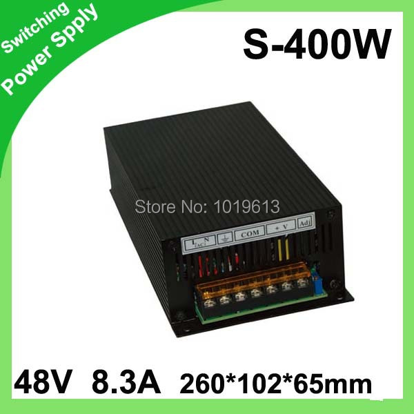 S-400-48 400W 48V 5A LED Switching Power Supply Transformer 110V 220V AC to DC s 250 48 5a 48v 240w switching power supply 48v led power supply factory direct sales ac to dc transformer