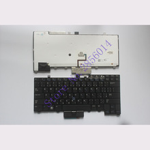 Brand New Czech Keyboard FOR DELL E6400 E6410 E5500 E5510 E6500 E6510 M2400 M4400 RU laptop keyboard Backlight 0D4K8T V082025BS1
