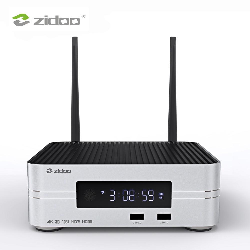 Zidoo Z10 Smart TV Box Android 7.1 4K Media Player NAS 2G DDR 16G eMMC Television Set Top Box 10Bit Android Top Box UHD TVbox z69 android 6 0 2g 16gb 4k uhd smart tv box