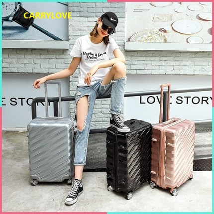 CARRYLOVE high quality business luggage series 20/24/26/28 inch size Aluminum frame PC Rolling Luggage CARRYLOVE high quality business luggage series 20/24/26/28 inch size Aluminum frame PC Rolling Luggage