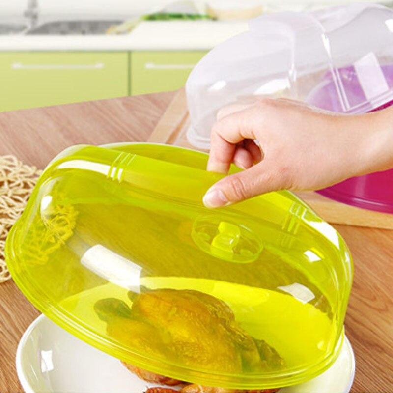 Холодильник накладка микроволновый нагрев крышкой практическое 26,5*26,5*8 см прозрачный фиолетовый зеленый Кухня инструменты кухонные принадлежности