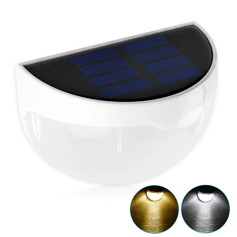 Waterproof IP55 LED Solar Lamp Garden LED Solar Light Outdoor Modern Wall Solar Lamp For Garden Decoration newest style led solar wall light solar lamp outdoor solar garden decorative lamp