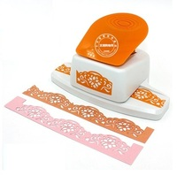 Free Shipping 1PC New Flower Border Punch Foam Paper Embossing Puncher For Scrapbooking Edge Craft Punch Paper Cutter