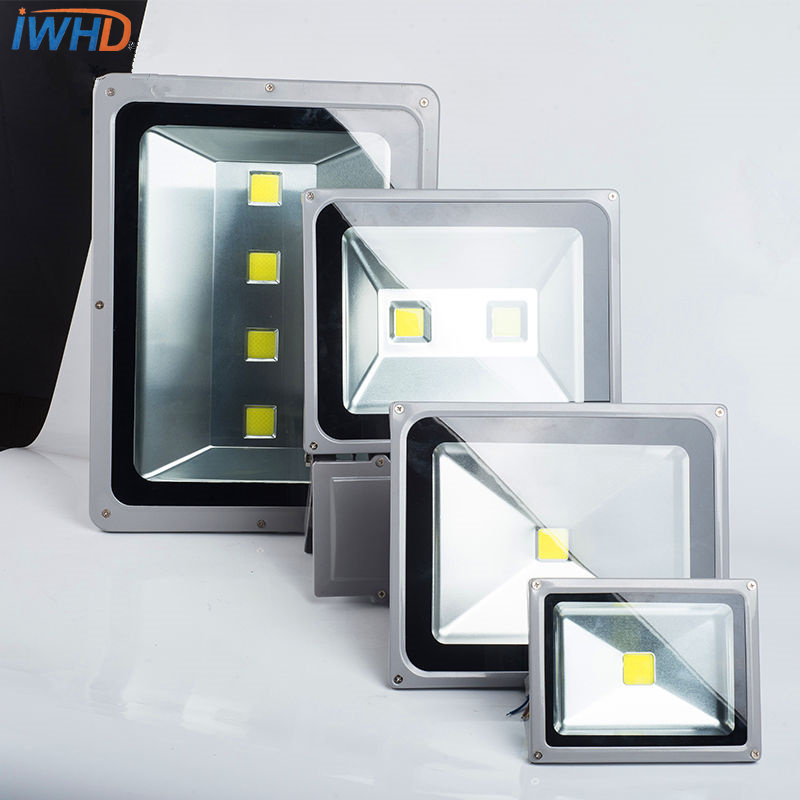 Led flood light industrial lighting source outdoor waterproof outdoor energy efficient lighting courtyard projection lamp energy efficient architecture