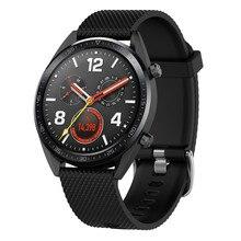 2019 заменить Мужские t часы ремешок на запястье для huawei часы GT модные повседневные мужские и женские часы полосы Большой Малый силиконовый Спорт