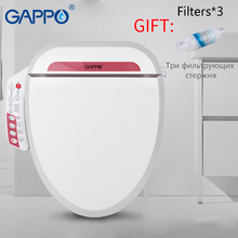 GAPPO Smart Toilet Seats Panel Control Quick Heated Cover Electric Intelligent Bidet Multi-function Washing