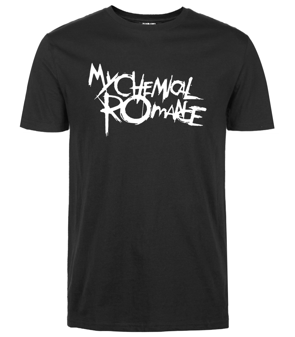 2016 new arrival funny brand tee shirt homme my chemical. Black Bedroom Furniture Sets. Home Design Ideas