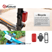 long Battery life Wifi Bike GPS Tracker Built in flash LED portable Bicycle GPS GSM tracking