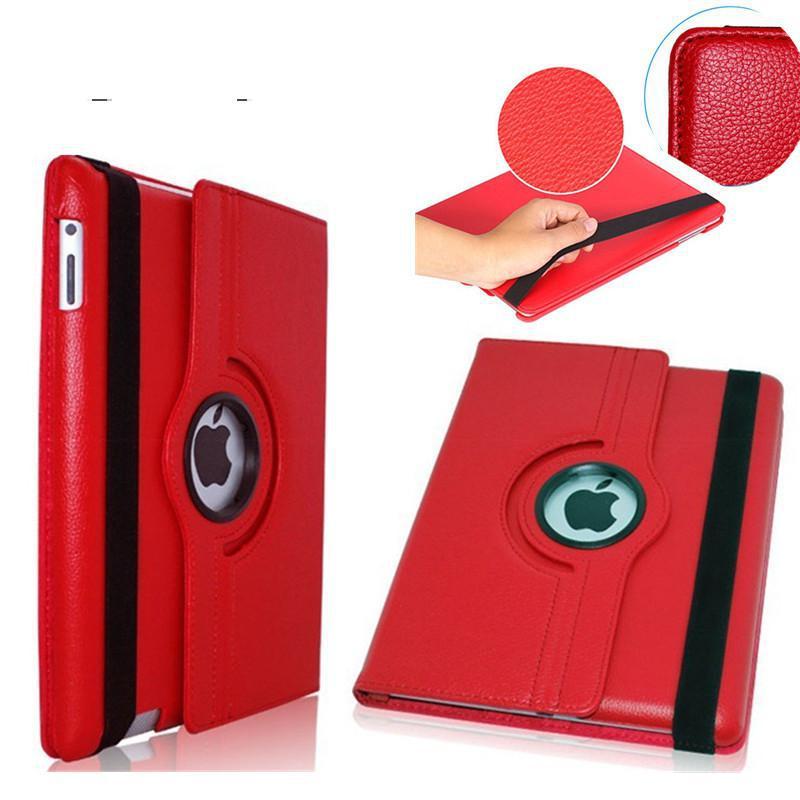 Cases For Apple iPad 2 ipad 3 ipad 4 tablet case Flip Stand pu Leather 360 Rotating Cover For ipad mini mini 2 mini 3 case+pen