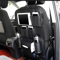 VORCOOL Multi Pocket Car Back Seat Storage Car Seat Cover Organizer Car Organizer Bag with Collapsible Table Rack