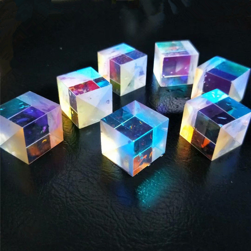 US $6.5 27% OFF|4 PCS DIY Defective X Cube Prism Cross Dichroic Prism RGB Combiner Splitter for Party Home Decoration|splitter|splitter combiner|splitter rgb - AliExpress