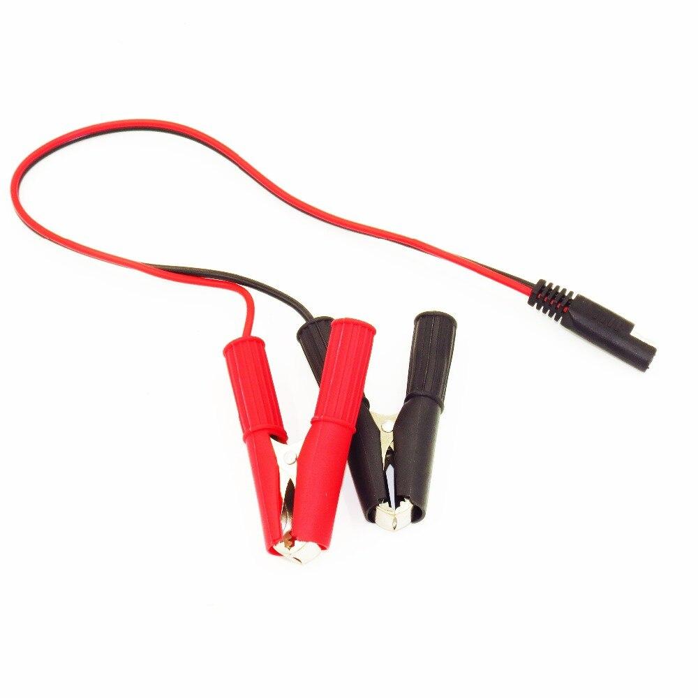 Schwere Batterieklemme Kabel mit SAE Schnellverschluss SAE Alligator ...