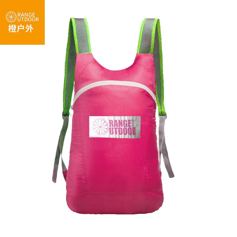 Pemampat beg 10L ransel ultralight beg galas malas lelaki dan wanita luar