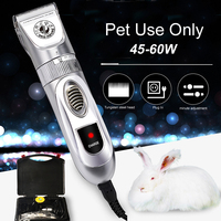 Professional 60W Pet Trimmer Scissors Dog Cattle Rabbits Shaver High Power Horse Grooming Electric Hair Clipper Cutting Machine