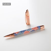 Never Watercolor Gift Pen 0 5mm Black Ink Gel Pen Boligrafos For Bullet Journal Korean Stationery