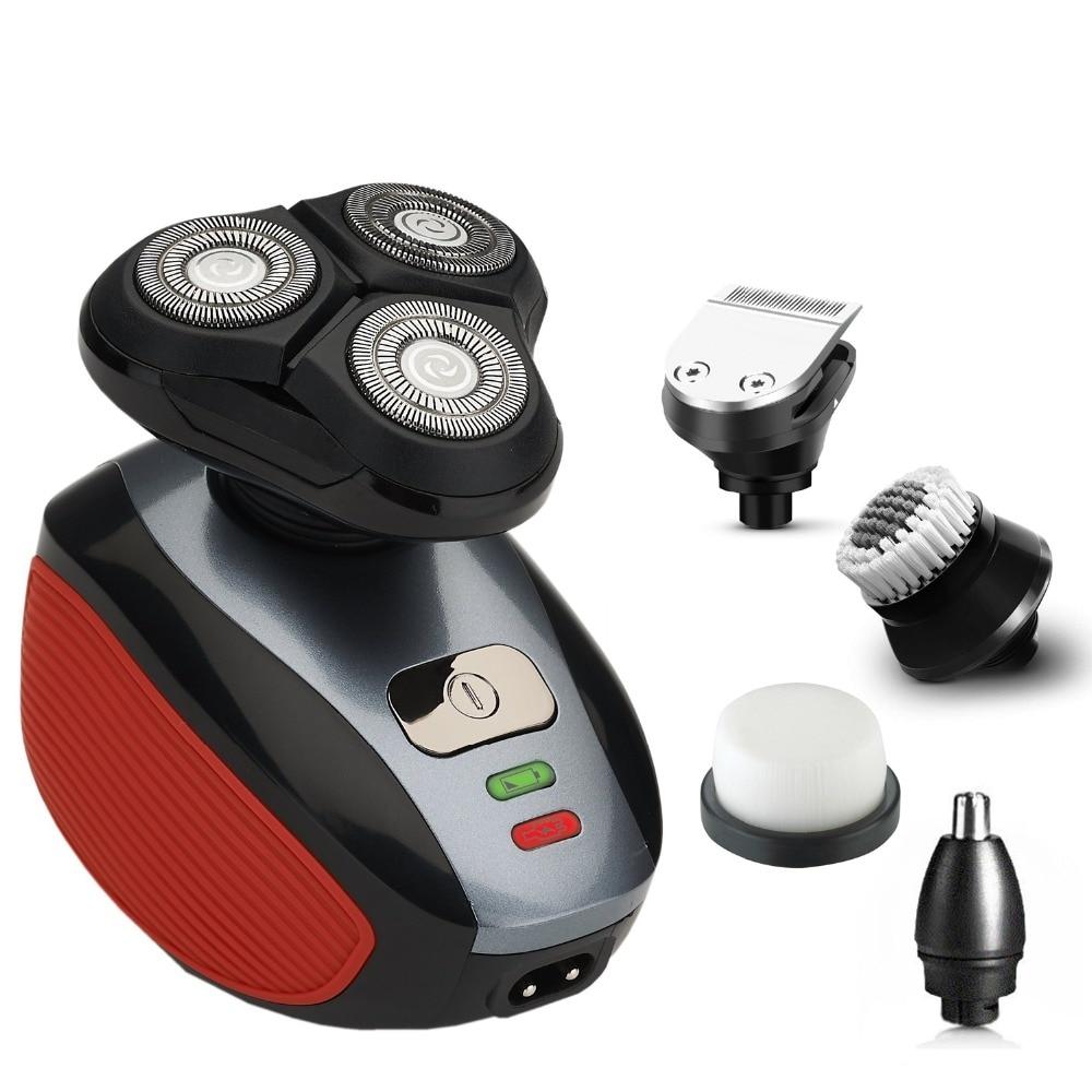 Rechargeable Electric Shaver Double Edge Men Razor 220V EU Plug OS