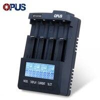 Original Opus BT C3100 V2 2 Smart Digital Intelligent 4 LCD Slots Universal Battery Charger For