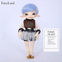 Oueneifs Fairyland RealFee Пано 1/7 sd bjd модель ЦУМ куклы игрушечные лошадки кукольный домик силиконовые смолы аниме мебель
