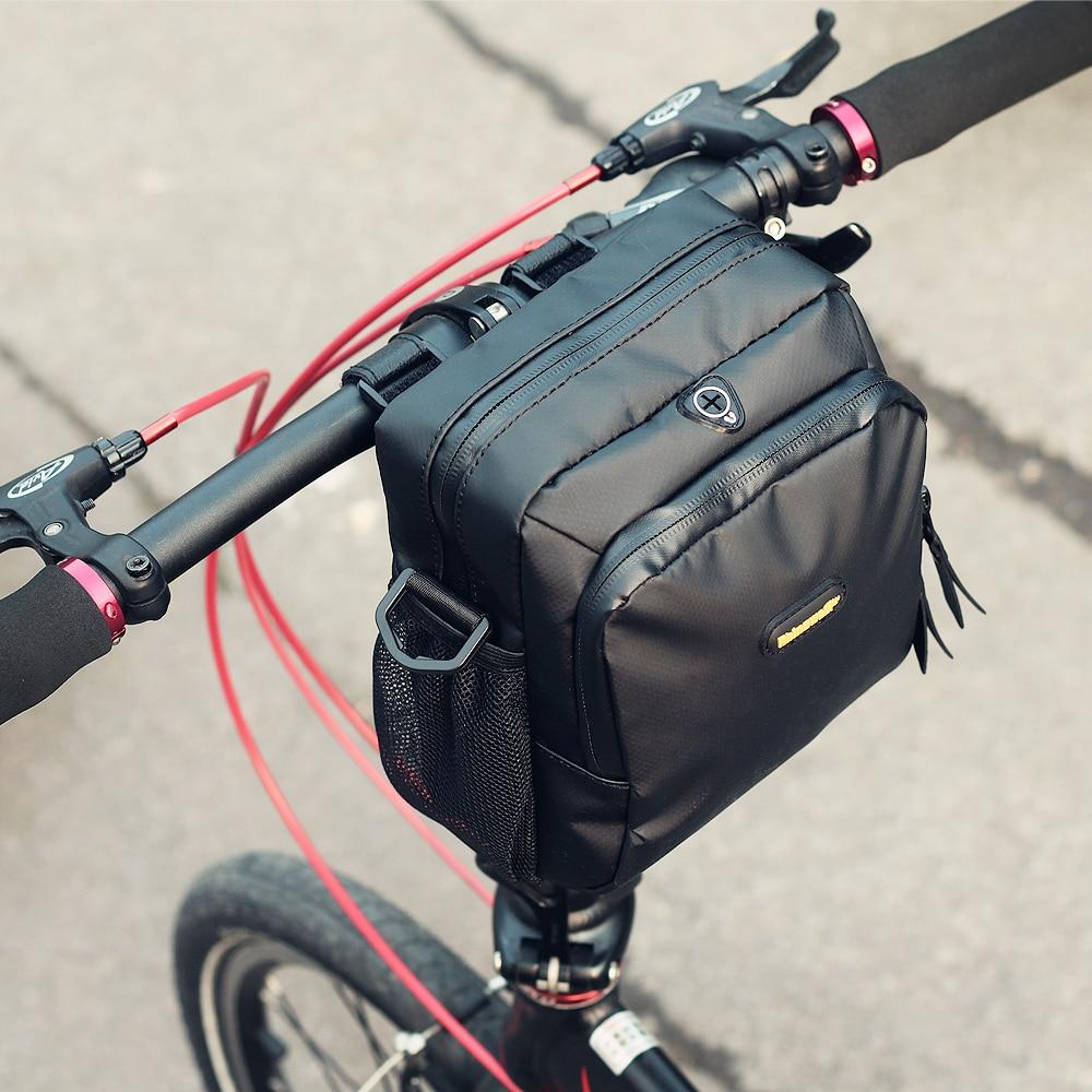 font b Bicycle b font bag front bag waterproof folding handlebar bag large capacity font