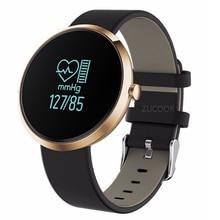 Smart Браслет V06 Приборы для измерения артериального давления Часы Heart Rate Мониторы браслет Фитнес браслет группа часы Водонепроницаемый для IOS Android Для мужчин