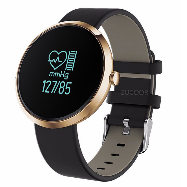 Smart Bracelet Watch V06 Blood Pressure Heart Rate Monitor Wristband Band Clock Life Waterproof For iOS Android Men PK V8 GT08