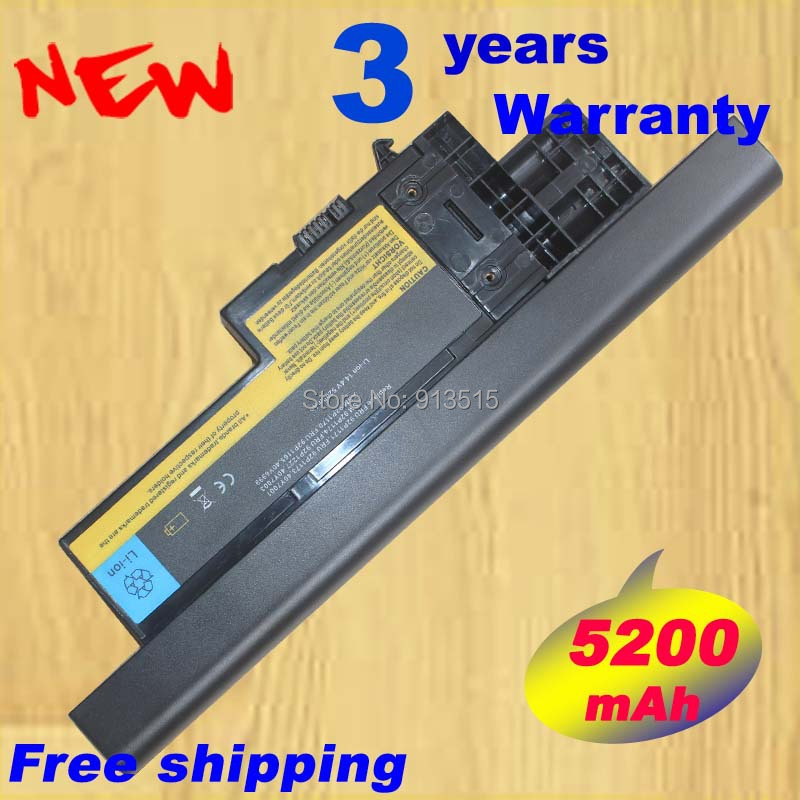 14.4V 5200mAh HOT new laptop battery for IBM Lenovo ThinkPad X60 X60s X61 X61s 40Y6999 40Y7001 40Y7003 FREE SHIPPING пояса rusco пояс для единоборств rusco 280 см белый