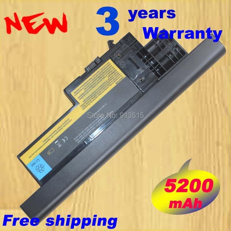 14.4V 5200mAh HOT New Laptop Battery For IBM Lenovo ThinkPad X60 X60s X61 X61s 40Y6999 40Y7001 40Y7003 FREE SHIPPING