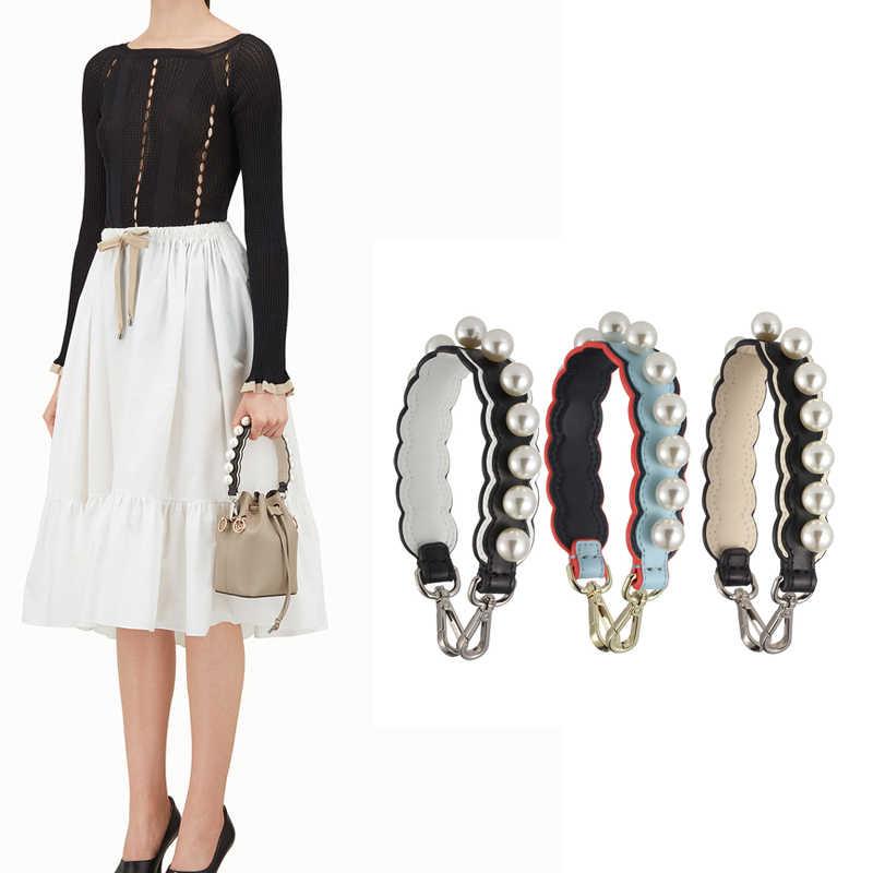 AUTEUIL жемчуг мини наплечный ремень Женская сумка Аксессуары весна лето сумка через плечо с ремешком спилок кожаный ремешок вы длинный ремень