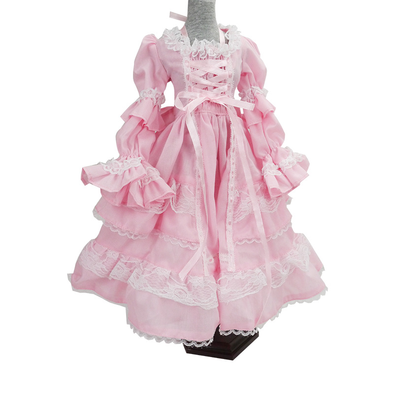 Bjd Doll Clothes 1/3 Sd Baby Clothes Dress Lovely Clothes Girl Gift Free Shipping Doll Not Include More Style Avaliable 1