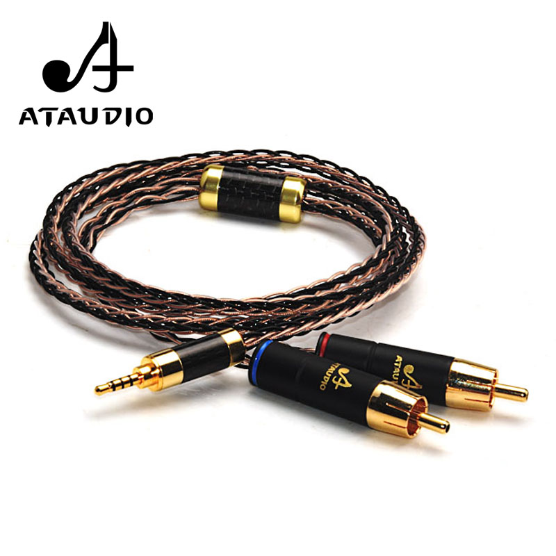 ATAUDIO Hifi 2.5mm TRRS Balanced to 2 RCA Male Cable For Astell&Kern AK100II,AK120II,AK240, AK380,AK320,DP-X1 пандора браслет с шармами
