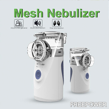 Health Care Handy portable Nebulizer Home Children Adult Asthma Inhaler Mini Nebulizador Automizer Care Ultrasonic Nebulizer