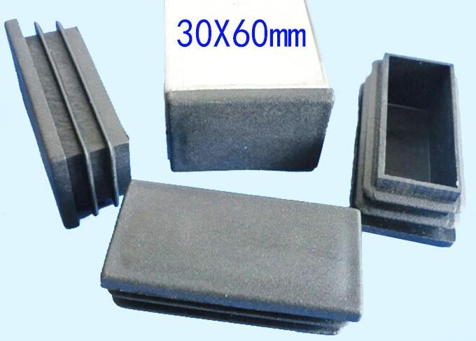 Folding Chair Feet Indoor Lounge Aliexpress.com : Buy 30*60mm Blanking Tube Insert End Plug Plastic Rectangle Oblong Leg Pad ...