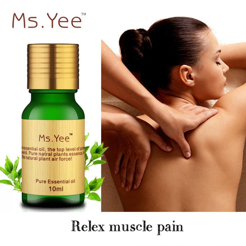 SPA Compus Uleiuri esentiale Elimina durerea musculara Circulatia sangelui Dragul gâtului umărului Aromaterapie Masaj ulei aromatic 10ml