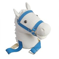 Funny Riding Animal Reading Horses Stuffed Toy Family Parent Child Interactive Toys for Children Novelty Toys Gift