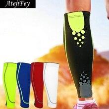 1pair Elastic Legwarmers Pressure Leggings Sports Running Fitness Men Women Muscle Protection kneepad Support Leg Sleeve