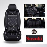 Truck Suv Durable (1 Set) Pu Leather Car Seat Cover Seat Cover Protection Auto Seat For Suzuki Sx4 Swift A6 Splash Grand Vitara