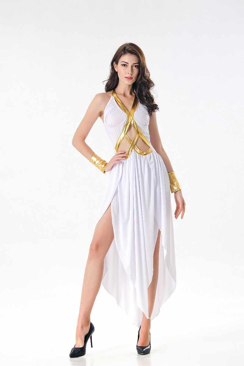 136b9a2741e8 ... New Ladies Greek Goddess Cosplay Roman Princess Costumes Adult Sexy  Roman goddess Costume for Halloween masquerade ...