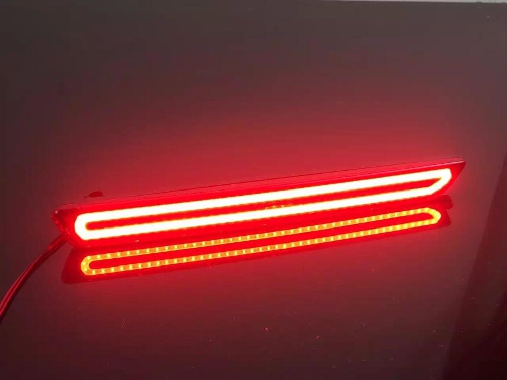 eOsuns led rear bumper light, drving light, brake light, turn signal tail light assembly for mazda 2 3 6 8