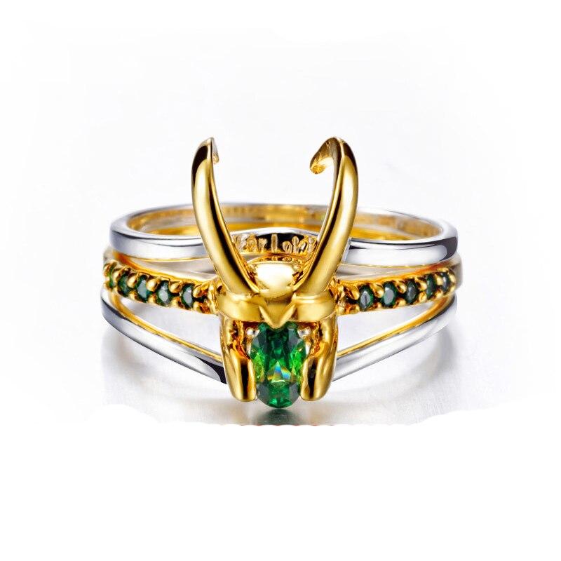 Takı ve Aksesuarları'ten Halkalar'de 2019 Loki Kask Yüzük Avenger Charm Süper Kahraman Takı 925 Gümüş Loki Yüzük Erkekler Kadınlar Için sevgililer Günü Hediyesi/ hediye Unisex'da  Grup 1