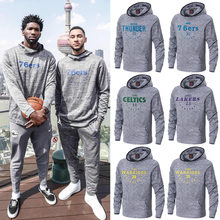 USA Basketball Sports Hoodies James/Leonard/George/Embiid training hooded Sweatshirt Men Hip Hop Streetwear Pullovers hoodies(China)