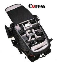 Coress C8010 Профессиональный Anti-theft Камера фото рюкзак 12′ ноутбука Водонепроницаемый видео сумка для Canon цифровых зеркальных фотокамер Nikon /DSLR