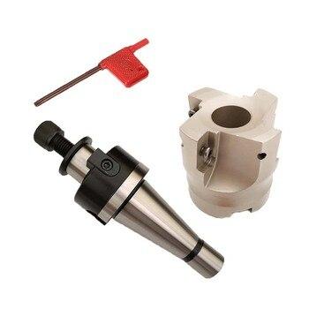 Новый 1 Набор NT40 FMB22 45L toolholder/NT30 FMB22 45L + BAP400R 50-22-4T торцевая фреза для токарного станка с ЧПУ